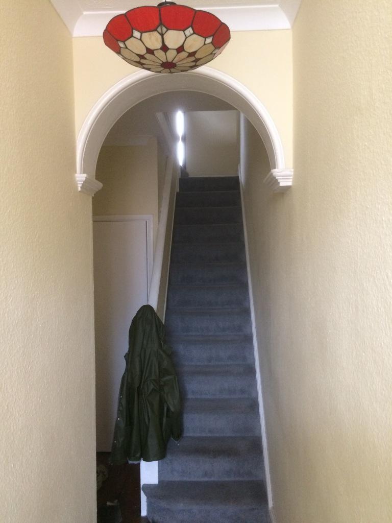 Hallway (pre-decorating)